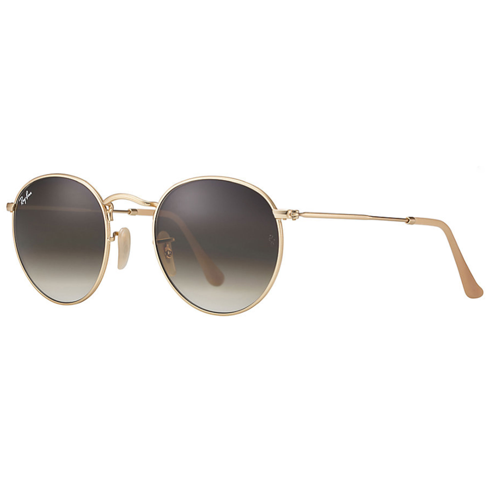 8b5540367 Ray-Ban Round Classic Brown Gradient Sunglasses - McConnell Optometry